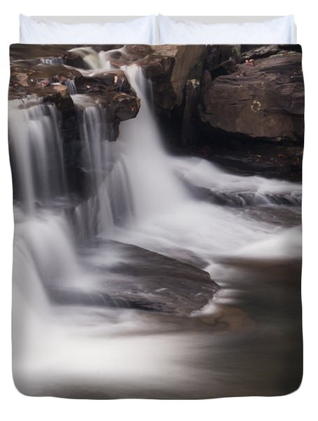 Brush Creek Falls Duvet Cover