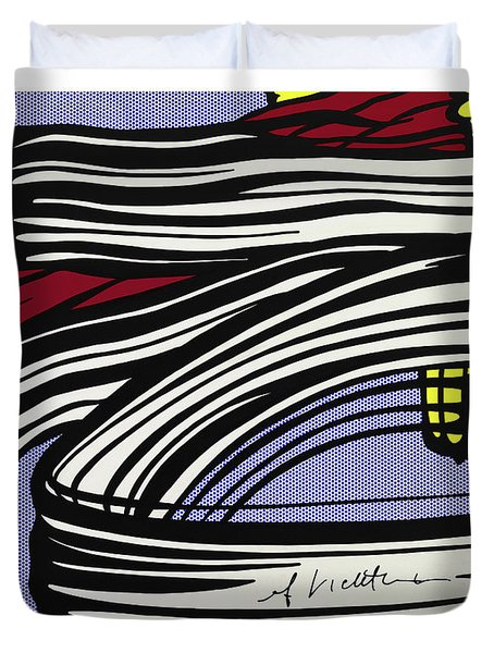 Brushstroke -1965 Duvet Cover