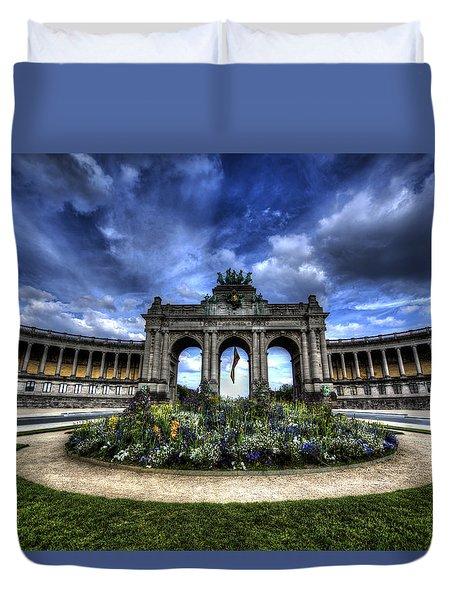 Brussels Parc Du Cinquantenaire Duvet Cover