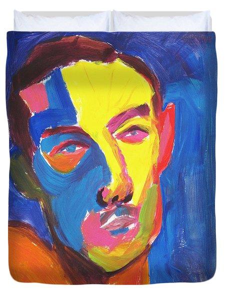 Bryan Portrait Duvet Cover