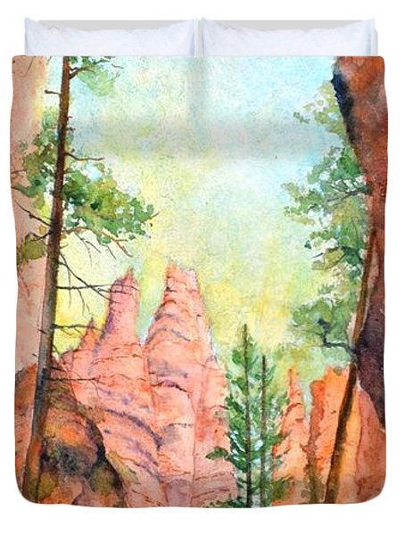 Bryce Canyon #2 Duvet Cover