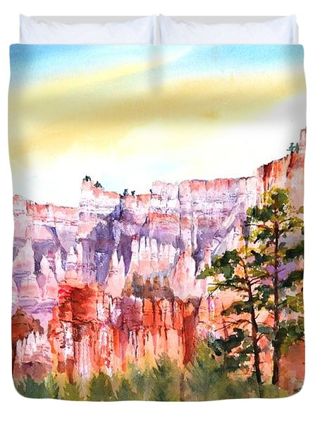 Bryce Canyon #3 Duvet Cover