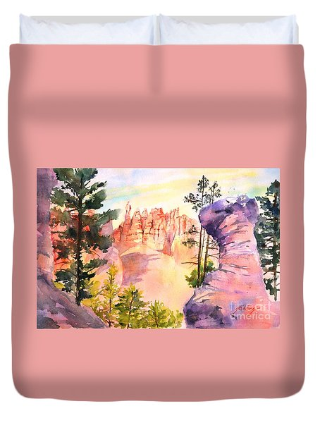 Bryce Canyon #4 Duvet Cover