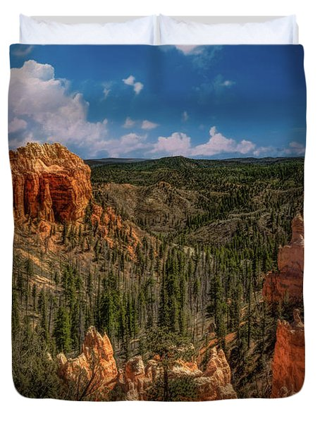 Bryce Canyon From The Top Duvet Cover