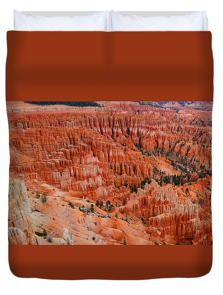 Bryce Canyon Megapixels Duvet Cover
