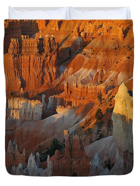 Bryce Canyon Morning Duvet Cover