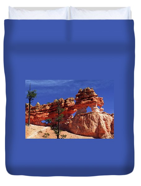 Bryce Canyon National Park Duvet Cover by Sally Weigand
