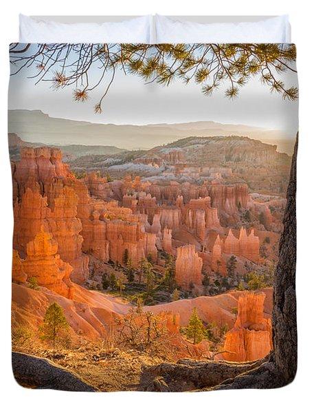 Bryce Canyon National Park Sunrise 2 - Utah Duvet Cover