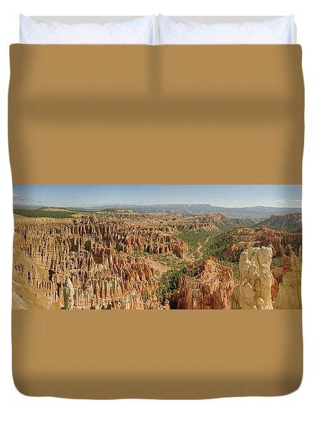 Bryce Canyon Panorama Duvet Cover