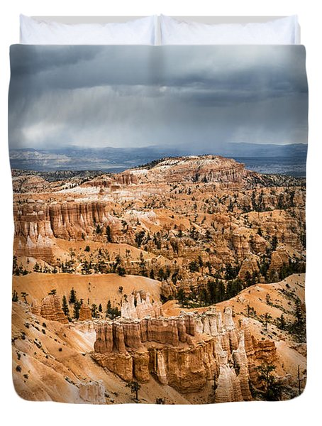 Bryce Canyon Storm Duvet Cover