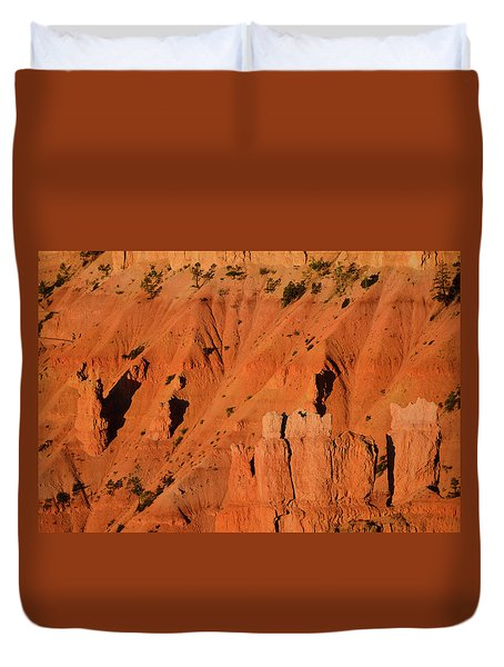 Duvet Cover featuring the photograph Bryce Canyon Sunrise 2016b by Bruce Gourley