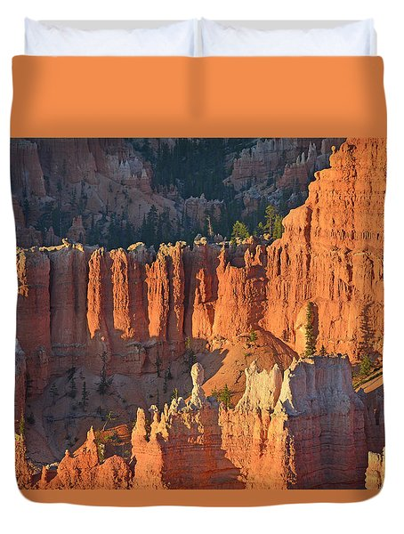 Duvet Cover featuring the photograph Bryce Canyon Sunrise 2016c by Bruce Gourley