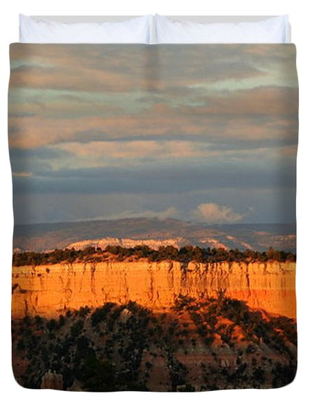 Bryce Canyon Sunset Duvet Cover