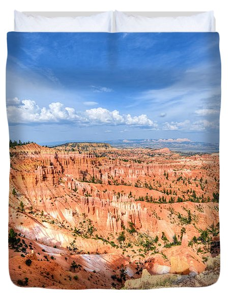 Bryce Canyon - Sunset Point Duvet Cover