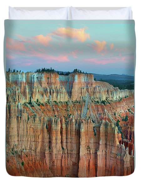 Bryce Canyon Duvet Cover by Tim Fitzharris