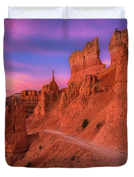 Bryce Trails Duvet Cover
