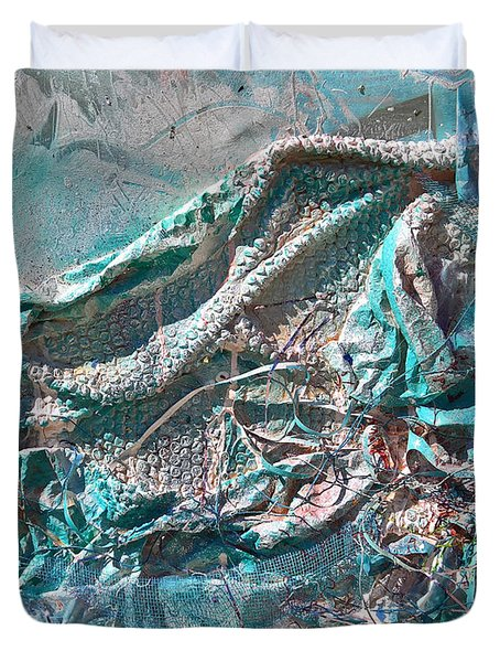 Bubble Abstract #81817 Duvet Cover
