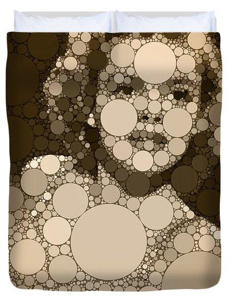 Bubble Art Judy Garland Duvet Cover