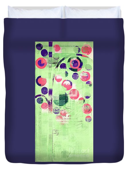 Duvet Cover featuring the photograph Bubble Tree - 224c33j5r by Variance Collections