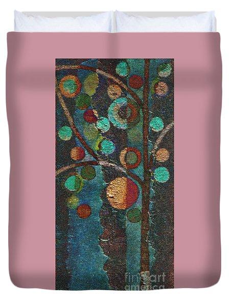 Bubble Tree - Spc02bt05 - Left Duvet Cover