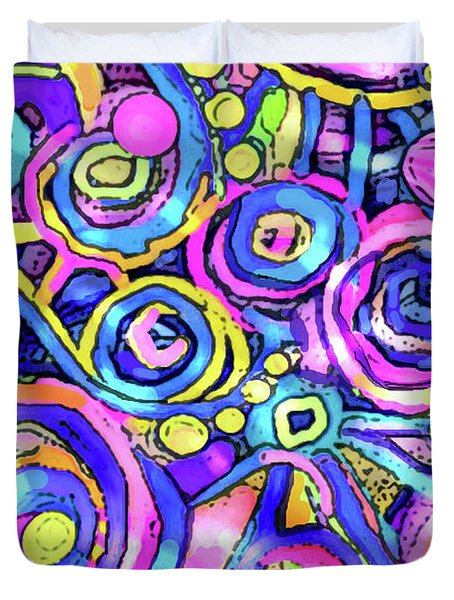 Bubbly Duvet Cover