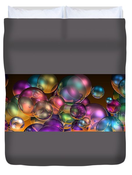 Bubbles Overall Duvet Cover