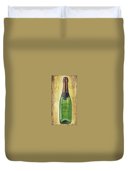 Bubbly Champagne 2 Duvet Cover