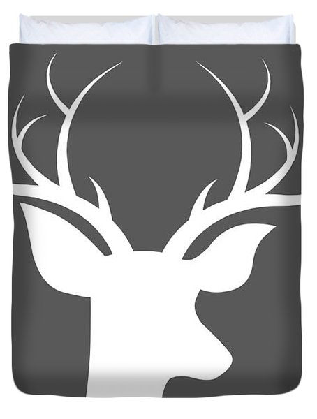 Buck Deer Duvet Cover by Chastity Hoff