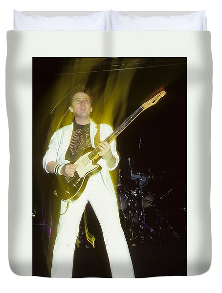 Buck Dharma Of Blue Oyster Cult Duvet Cover