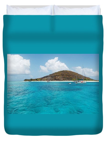 Buck Island Reef National Monument Duvet Cover