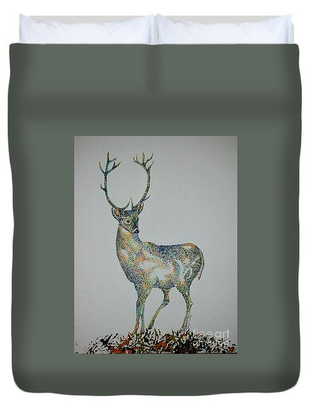 Buck Duvet Cover by Tamyra Crossley