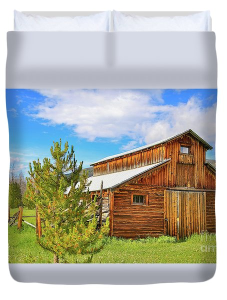 Buckaroo Barn 2 Duvet Cover
