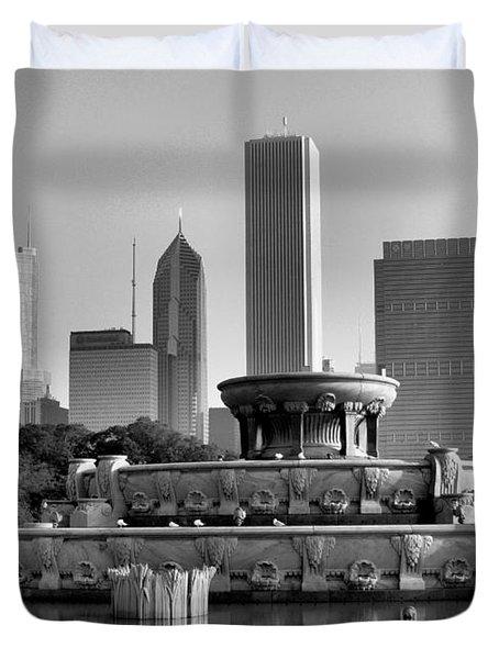 Buckingham Fountain - 2 Duvet Cover