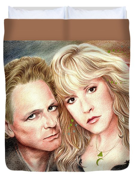 Buckingham Nicks Duvet Cover