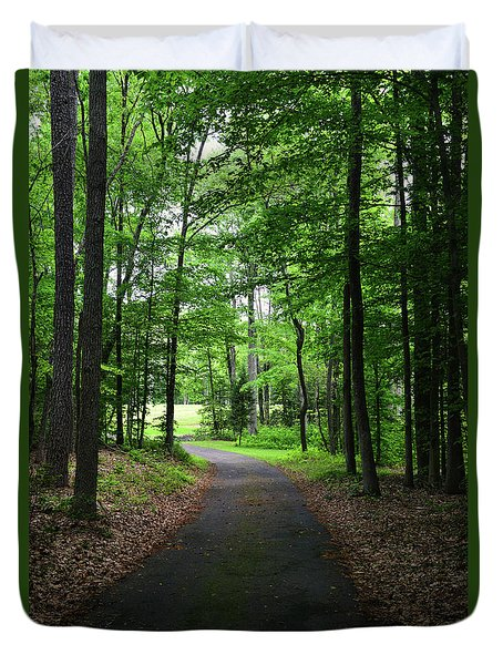 Buckner Farm Path Duvet Cover