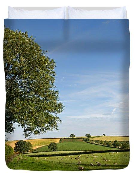 Bucolic Mid Devon Duvet Cover