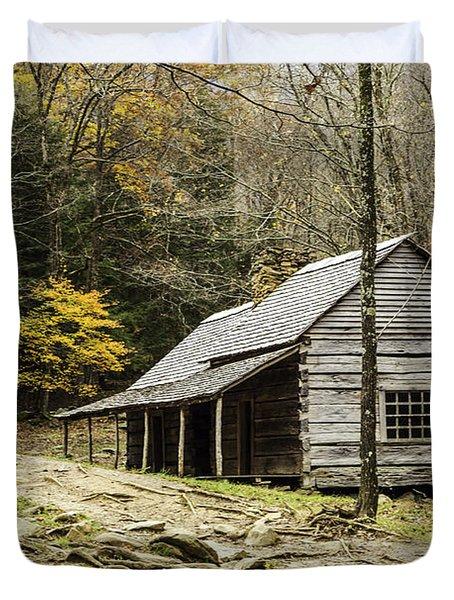 Bud Ogle Cabin 05 Duvet Cover