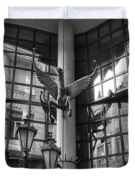 Budapest Reflections Duvet Cover