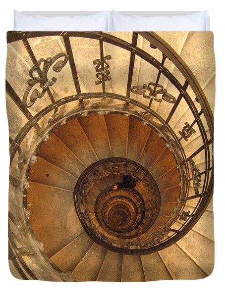 Budapest Staircase Duvet Cover