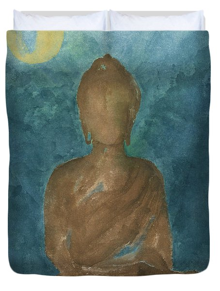 Buddha Abstract Duvet Cover