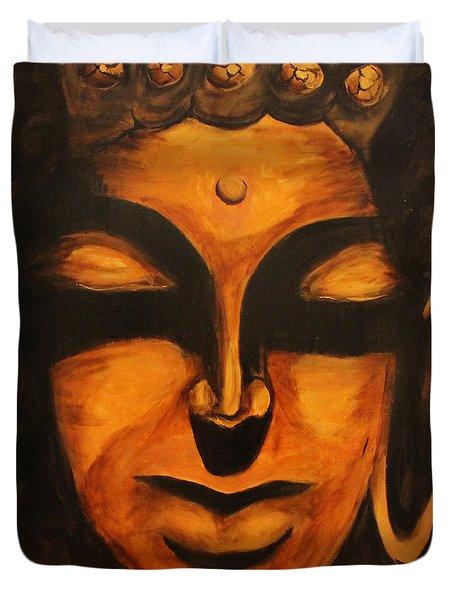 Buddha-licious Duvet Cover