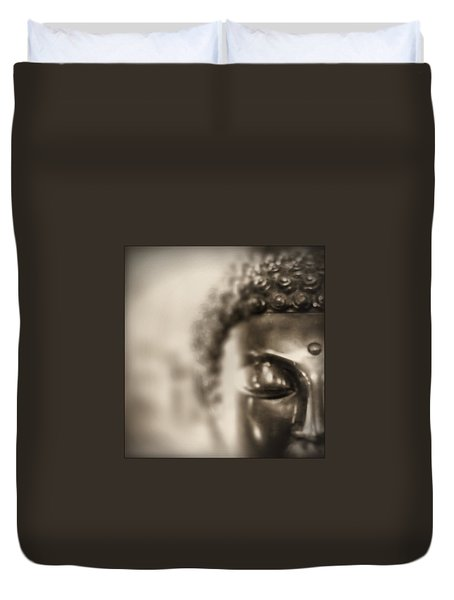Buddha Thoughts Duvet Cover