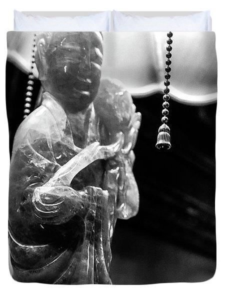 Buddha's Light Duvet Cover