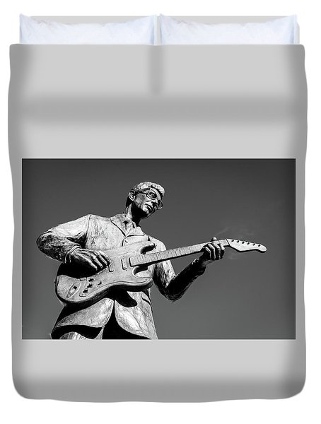 Buddy Holly 4 Duvet Cover