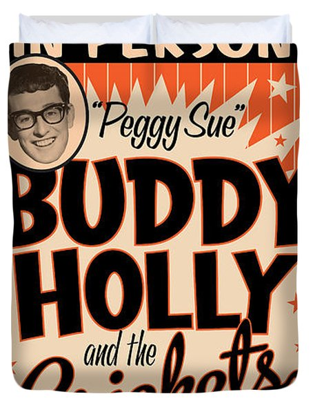 Buddy Holly Duvet Cover