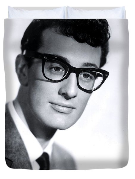 Buddy Holly Duvet Cover by The Titanic Project