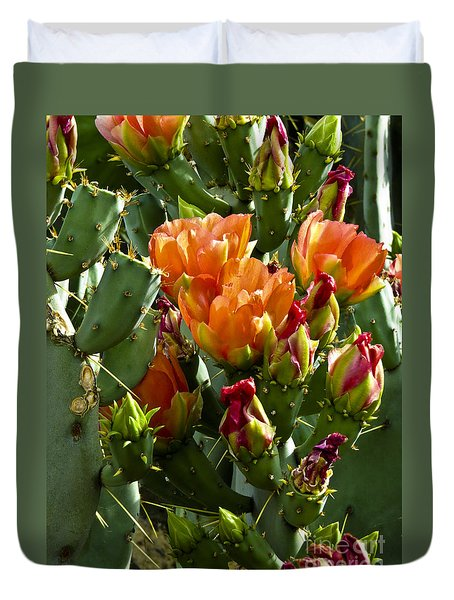 Buds N Blossoms Duvet Cover