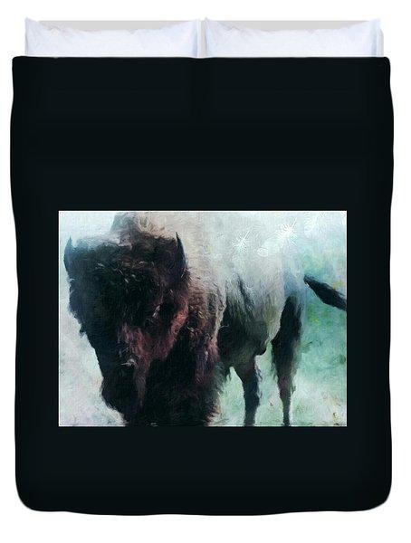 Buffalo American Bison Duvet Cover