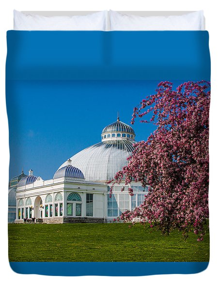 Buffalo Botanical Gardens North Lawns Duvet Cover
