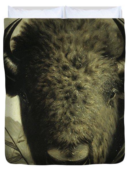 Buffalo Head Duvet Cover